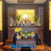 Mẫu bàn thờ tổ tiên đẹp sang trọng