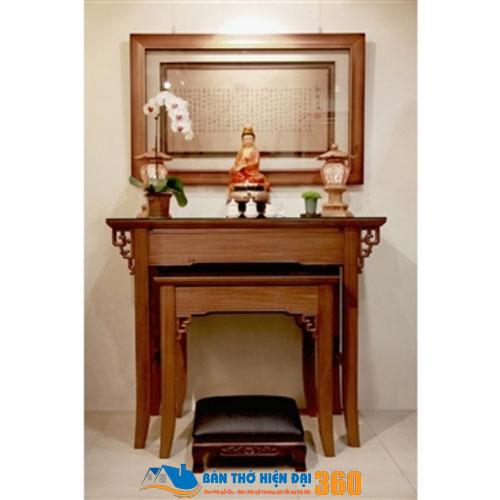 Mẫu bàn thờ hiện đại giá rẻ hợp phong thủy