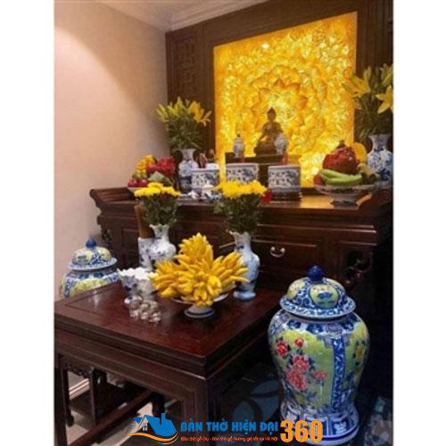 Mẫu bàn thờ tổ tiên cao cấp