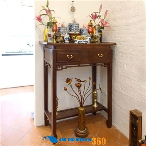 Các mẫu bàn thờ đẹp nhất hợp phong thủy
