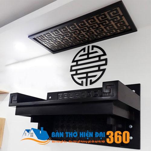 Bàn Thờ Treo Tường Gỗ Hương TTGH005