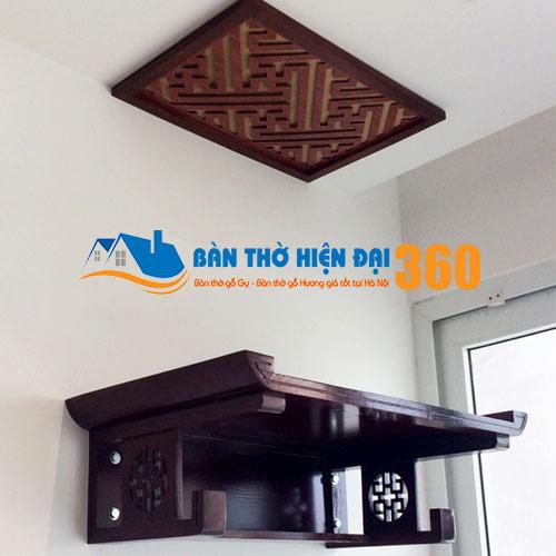 Bàn Thờ Treo Tường Gỗ Hương TTGH007