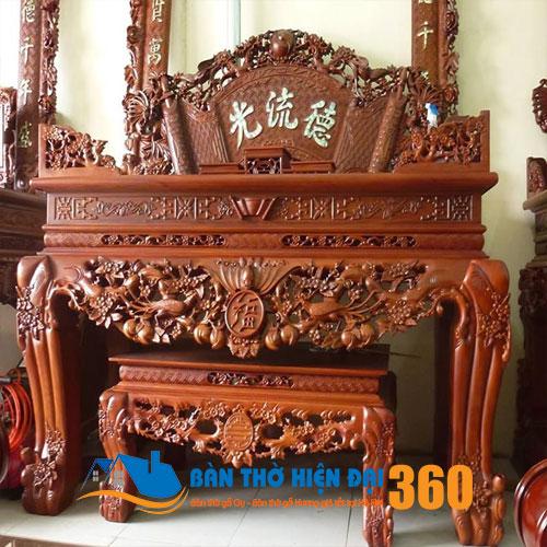 Mẫu sập thờ gỗ đẹp