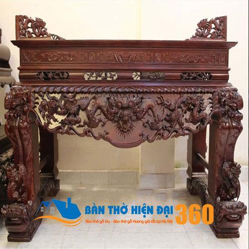 Sập thờ gỗ mít đẹp