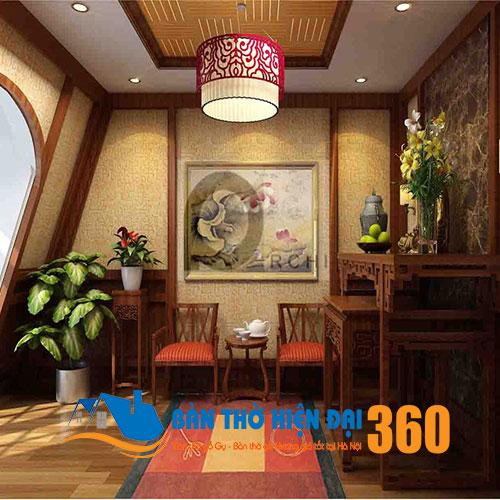 Mẫu thiết kế phòng thờ đẹp nhất Hà Nội