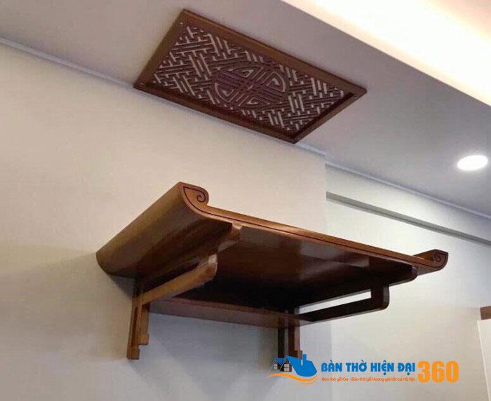 Lựa chọn bàn thờ treo tường hợp phong thủy nhà chung cư