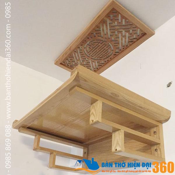 5 Mẫu bàn thờ treo tường giá rẻ nhất Hà Nội