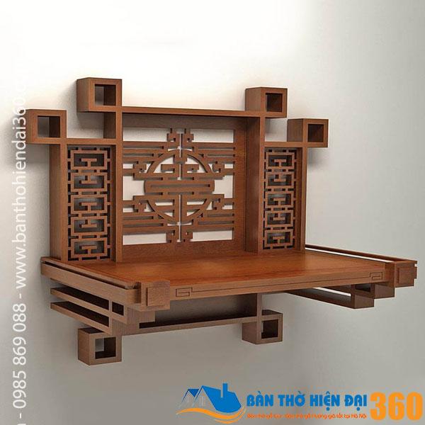 99+ mẫu bàn thờ treo tường đẹp
