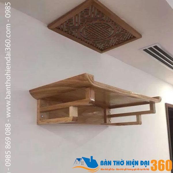 Bàn thờ chung cư đẹp nhất Hà Nội 2020