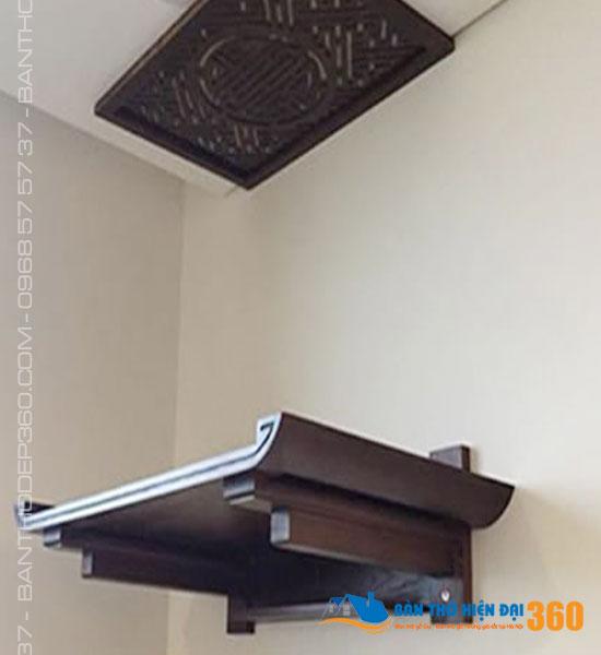 TOP 60 Mẫu bàn thờ treo tường cho nhà chung cư đẹp giá rẻ hiện nay!