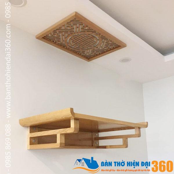 Bàn thờ chung cư đẹp rẻ nhất Hà Nội
