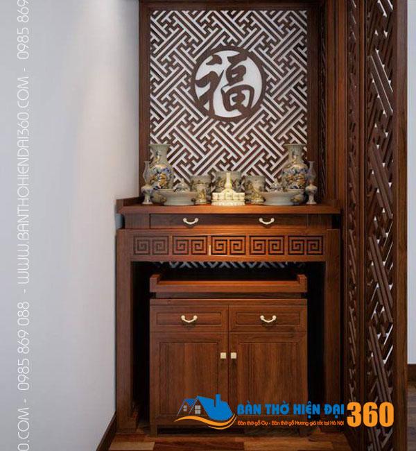 Bàn thờ đẹp chung cư gia đình Việt