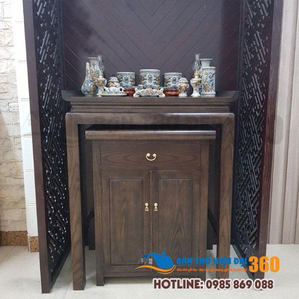 Top 20 bàn thờ đứng đẹp nhất mẫu mới Huyện Thạch Thất