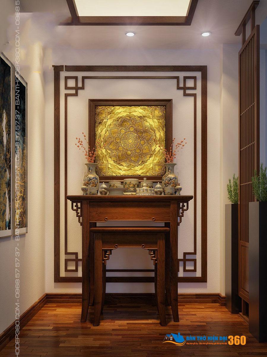 Bán Bàn Thờ Uy Tín Tại Hà Nội, bàn thờ đứng, bàn thờ chung cư, bàn thờ treo tường