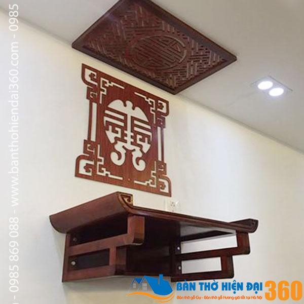 Bàn thờ treo tường hiện đại đẹp rẻ