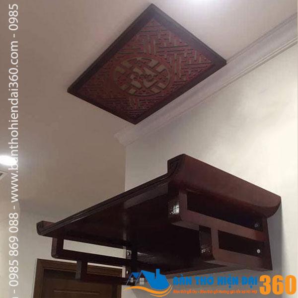 Mẫu bàn thờ chung cư giá rẻ đẹp nhất hiện nay