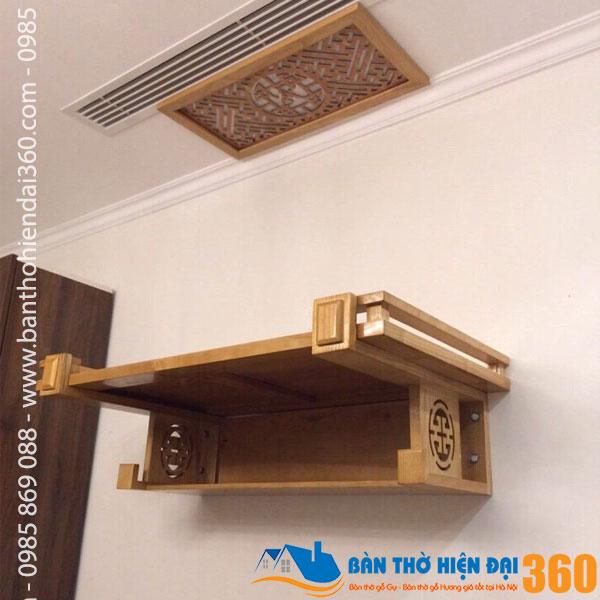 Mua bàn thờ chung cư ở đâu giá rẻ nhất Hà Nội