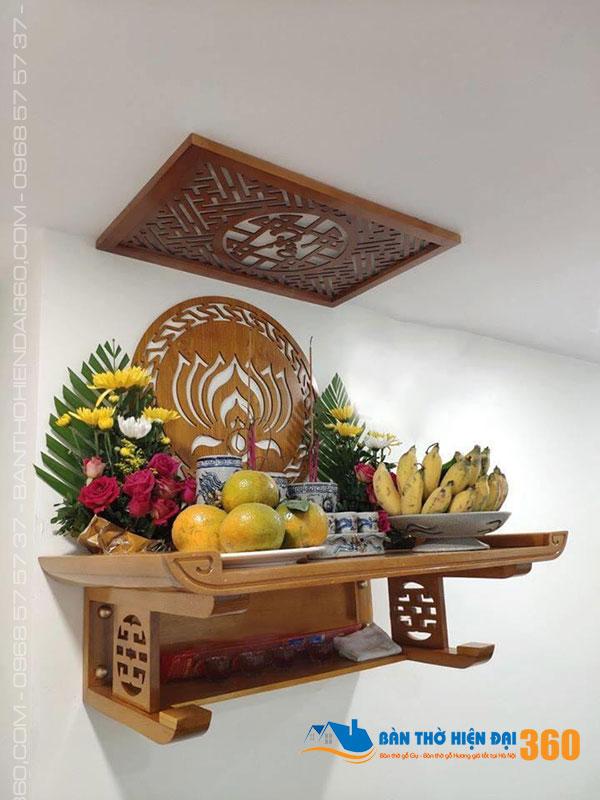 19 nguyên tắc đặt bàn thờ nhà chung cư ngày Tết hút tài lộc