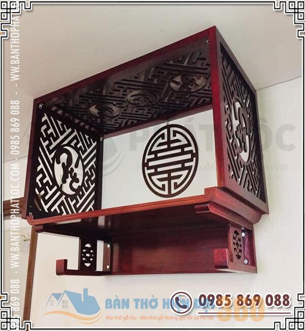 Nguyên tắc thiết kế bàn thờ treo tường