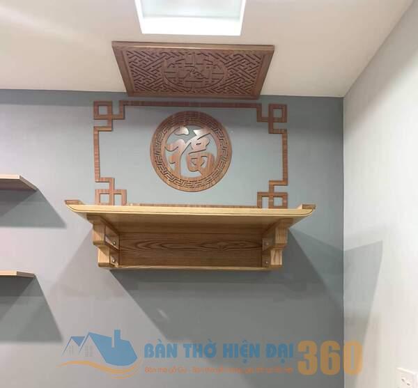 Tại sao nên lựa chọn bàn thờ treo tường ở Khánh Hòa