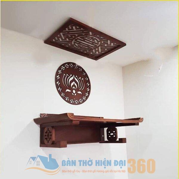 Top các mẫu bàn thờ treo tường hot nhất hiện nay tại Đà Nẵng