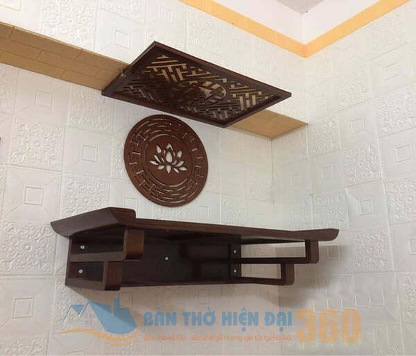 bàn thờ treo tường tại Lào Cai