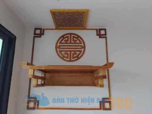 Hướng đặt bàn thờ treo tường ở Lào Cai