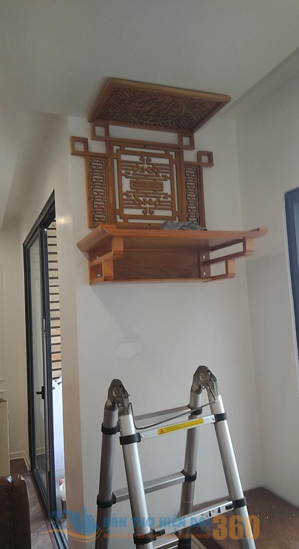 Bật mí cách bố trí bàn thờ treo tường phòng khách theo phong thủy
